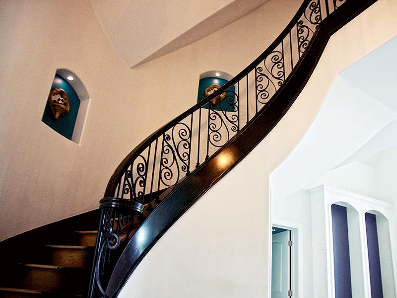Custom Staircase Iron Railing