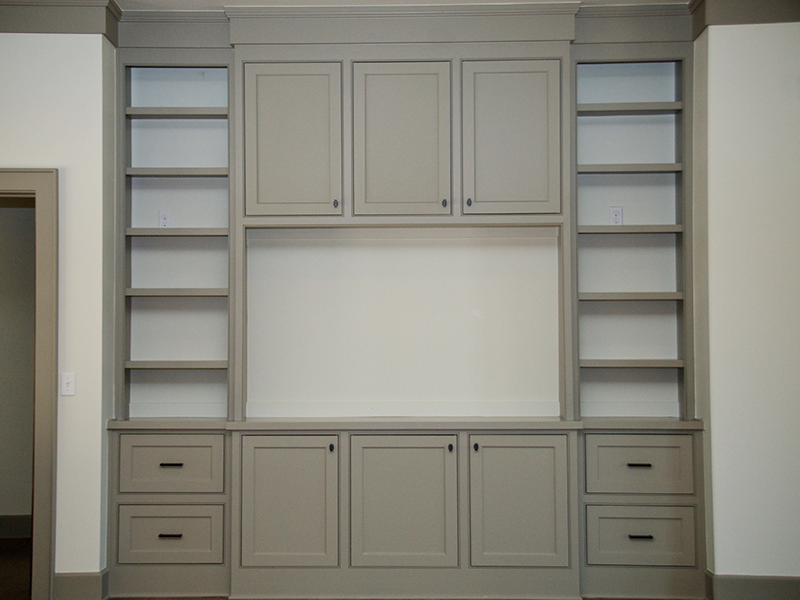 Custom Storage Areas