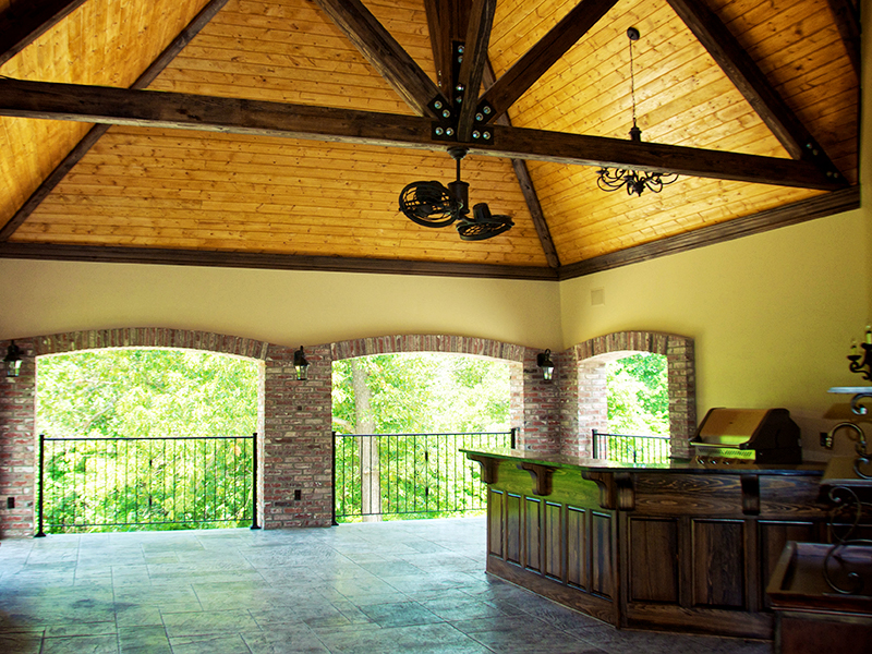Outdoor Living Covered Patio and Deck