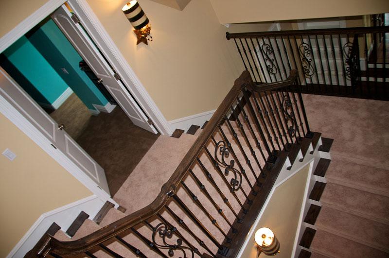 residential custom staircase